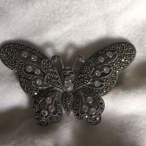 Vintage Judith Jacks Sterling Silver Brooch